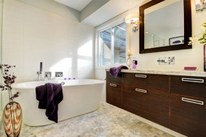 Ensuite tub and vanity slider 675 x 450
