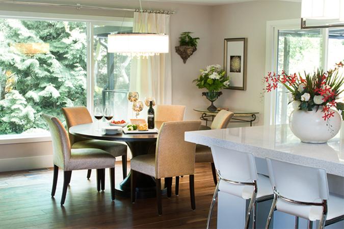 Belloc st, dining & island