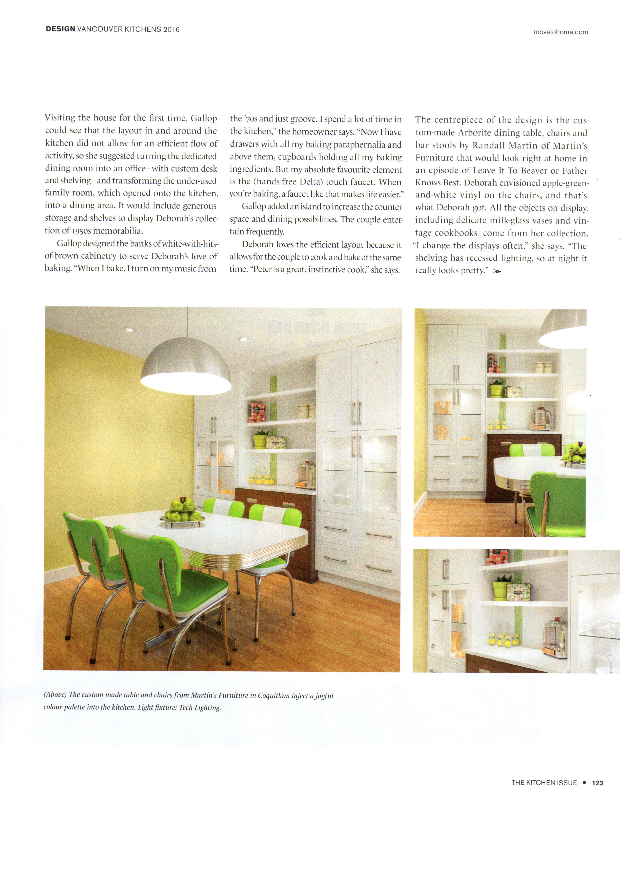 Photo Styling in Vancouver Homes Kitchens 2016