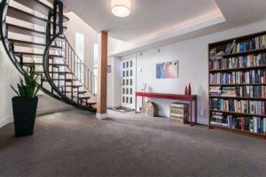 Hardy Crescent spiral stairs slider